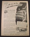 Magazine Ad for Fruehauf Trailers, Silvercup Bread, 1944