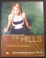 Magazine Ad for The Hills TV Show, 2006