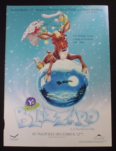 Magazine Ad for Blizzard Animated Movie, 2003