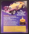 Magazine Ad for Crown Royal Whisky, Excalibur Sweepstakes, 1984