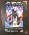 Magazine Ad for Young Astronaut Council, US Flag Space Shuttle, 1986