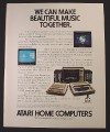 Magazine Ad for Atari Home Computers, 1982
