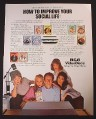 Magazine Ad for RCA VideoDiscs, Shows 9 Different Titles, 1982