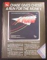 Magazine Ad for TSR Chase Strategy Game, 1987