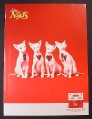 Magazine Ad for Naughty Nads Bikini Design Kit, Hairless Cats with Hair Patches, 2006