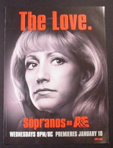 Magazine Ad for The Sopranos TV Show, The Love, 2007