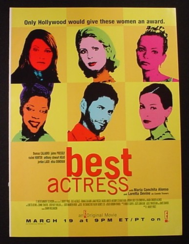 Magazine Ad for Best Actress TV Movie, 2000
