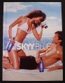 Magazine Ad for Skyy Vodka #23 Photo Op, 2003