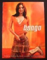 Magazine Ad for Bongo Clothes, Rachel Bilson Celebrity Endorsement, 2004