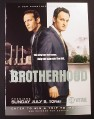 Magazine Ad for Brotherhood TV Show, Showtime, 2006