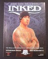 Magazine Ad for Inked TV Show, A&E, 2006