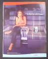 Magazine Ad for Diet Pepsi Can, Are Those Your Natural Bubbles, Carmen Electra