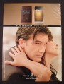 Magazine Ad for Antonio Fragrances, Antonio Banderas Celebrity Endorsement, 2006