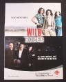 Magazine Ad for Wild Roses TV Show, CBC, 2009