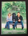 Magazine Ad for Must Love Dogs Movie, Diane Lane, John Cusack, 2005