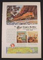 Magazine Ad for Great Northern Railway, New Empire Builders, 1946