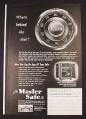 Magazine Ad for Mosler A Label Safe, What's Behind The Dial, 1949