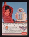 Magazine Ad for Playskool Alphie II Computer Robot Toy, 1985