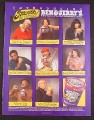 Magazine Ad for Ben & Jerry's Ice Cream, 8 Flavors, 1994, 7 1/2 by 10, Utne Reader Magazine