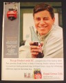 Magazine Ad for Royal Crown Cola, Jerry Lewis Celebrity Endorsement, Nutty Professor, 1963
