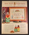 Magazine Ad for Vermont Maid Syrup Gilded Thimble Sampler Offer, 1964