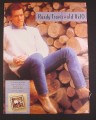 Magazine Ad for Randy Travis Old 8 x 10 Album, 1988