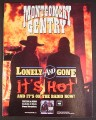 Magazine Ad for Montgomery Gentry Lonely & Gone Album, 1999