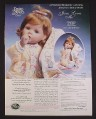 Magazine Ad for Precious Moments Jesus Loves Me Collector Doll, Ashton Drake, 1999