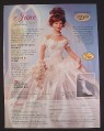 Magazine Ad for June Bride Doll by Patricia Rose, Paradise Galleries, 1999