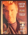 Magazine Ad for Collin Raye Tracks Album, 2000