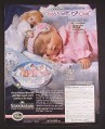Magazine Ad for Precious Moments God's Gift Of Love Collector Doll, Ashton Drake Galleries 2000