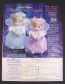 Magazine Ad for Precious Moments Birthstone Angels Dolls, Ashton Drake, 2000