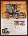 Magazine Ad for Ford Colt Model T Delivery Truck Diecast Model, Franklin Mint, 2001