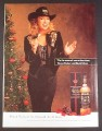 Magazine Ad for Black Velvet Whisky, Tanya Tucker Celebrity Endorsement, 1993