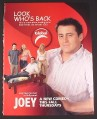 Magazine Ad for Joey TV Show, 2004