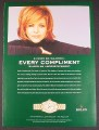 Magazine Ad for Rolex Oyster Perpetual Lady-DateJust Watch, Renee Fleming, 2004