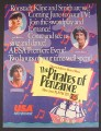 Magazine Ad for Pirates of Penzance Musical TV Movie, Linda Ronstadt, Kevin Kline, 1985