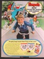 Magazine Ad for Fruit Of The Loom Funpals Boys Briefs, Cartoon Characters, 1985