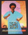 Magazine Ad for The No. 1 Ladies Detective Agency TV Show, HBO, 2009