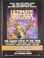 Magazine Ad for Ultimate Santana New Album, 2007