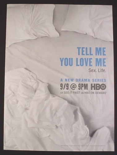 Magazine Ad for Tell me You Love Me TV Show, HBO, Celebrity, 2007