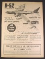 Magazine Ad for Monogram B-52 Stratofortress Model Airplane Kit PC215, Toys, 1968