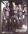 Magazine Ad for Firetrap Deadly Denim & Twisted Thoughts, Fashion, 2008