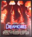 Magazine Ad for Dreamgirls Movie, Beyonce, Jennifer Hudson, 2008