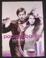 Magazine Ad for Paco Rabanne Ultraviolet Fragrance For Him & Her, 2008