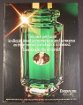 Magazine Ad for Emeraude by Coty Fragrance Perfume, Large Bottle, 1977