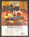 Magazine Ad for West Bend Westmark Kitchen Pots Pans & Utensils, 1972