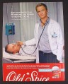Magazine Ad for Old Spice Deodorant, Neil Patrick Harris, Dr Doogie Howser, Celebrity, 2008