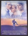Magazine Ad for Here on Earth Movie, Leelee Sobieski, Josh Hartnett, Chris Klein, 2000