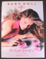 Magazine Ad for Baby Doll Paris Fragrance Perfume, Yves Saint Laurent, 2009